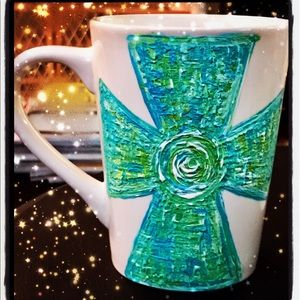 Taking orders for hand painted coffee cups $15